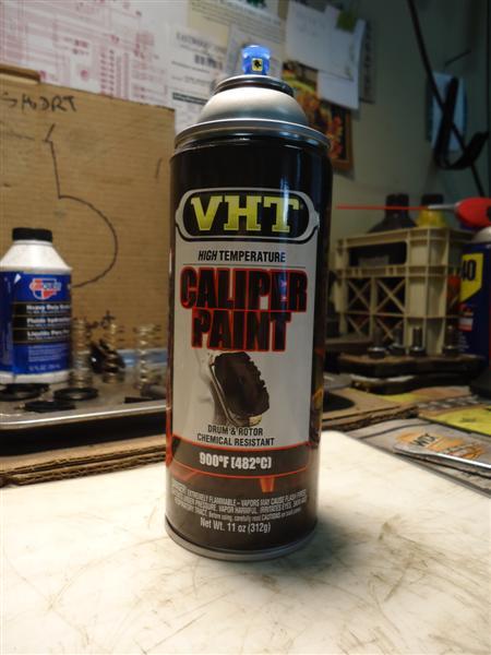 VHT paint for brake calipers