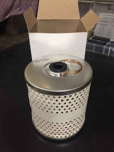 add oil filter to old Jeep