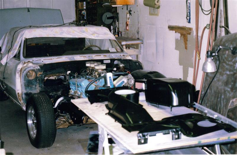 1965 GTO front sheet metal