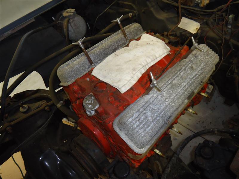 327 Chevy build