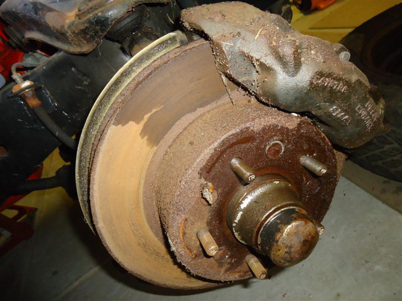 disc brake restoration
