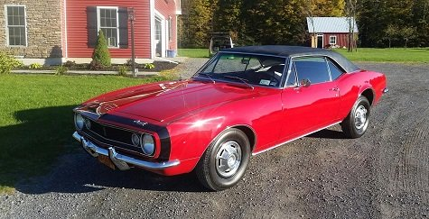 1967 Camaro is a good classic car to restore