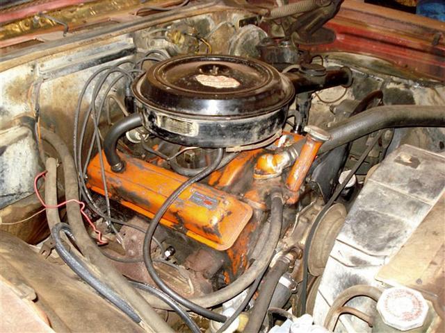 rebuild old car engine