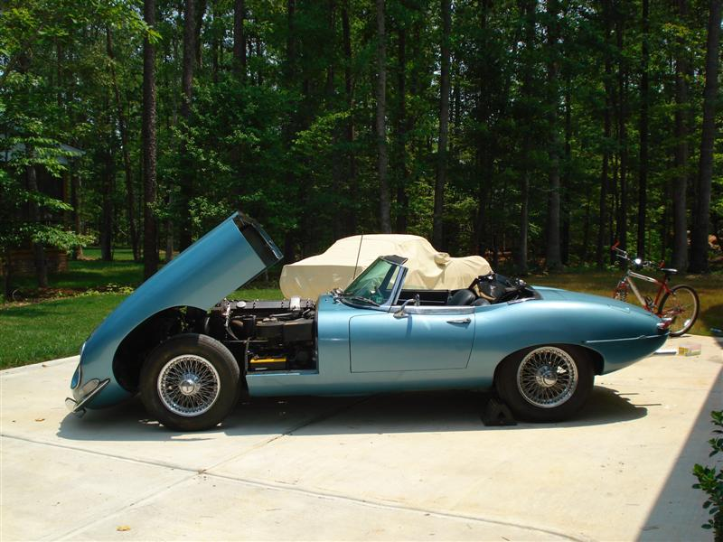 1968 Jaguar XKE Roadster