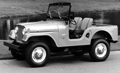 The CJ5 was a civilian version of the M-38A1 military model