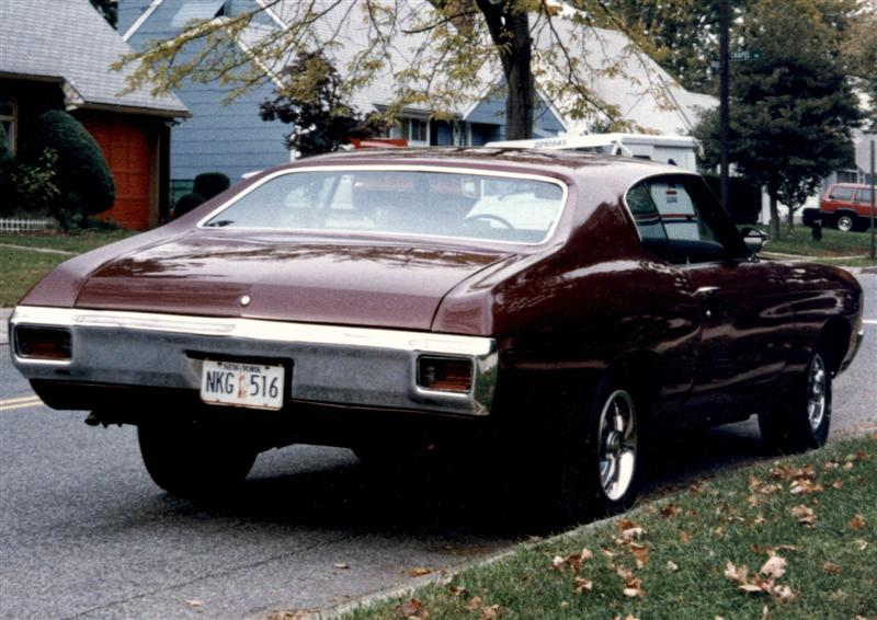 1970 Chevelle painted with Turbine HVLP system