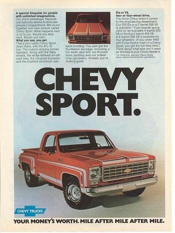 1976 Chevy truck