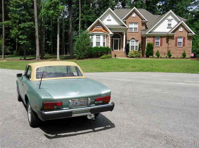 1979 Fiat Spider restoration