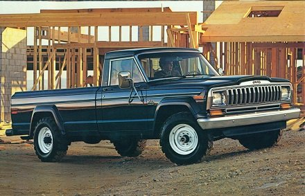 1985 Jeep Gladiator pickup truck