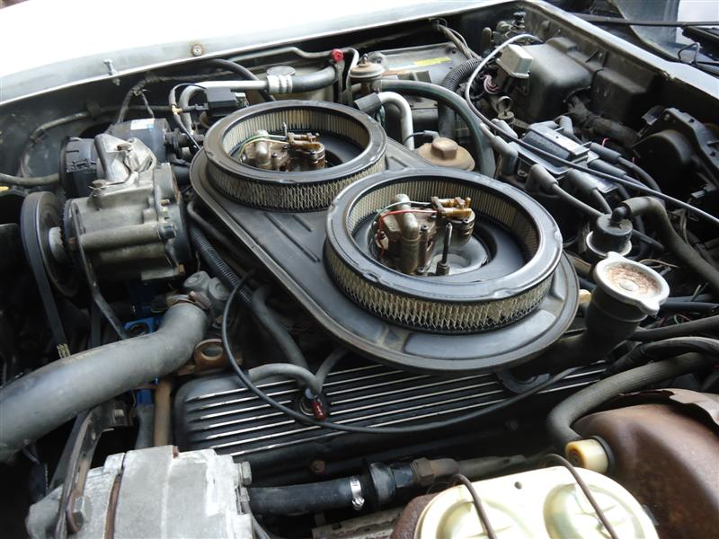 Corvette Crossfire 350 engine