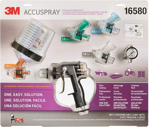 Accuspray Paint Spray Gun System