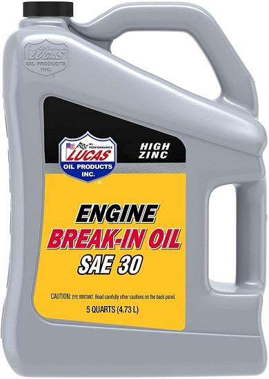 best oil for engine break-in