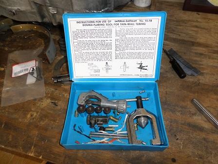 brake line flaring tool kit