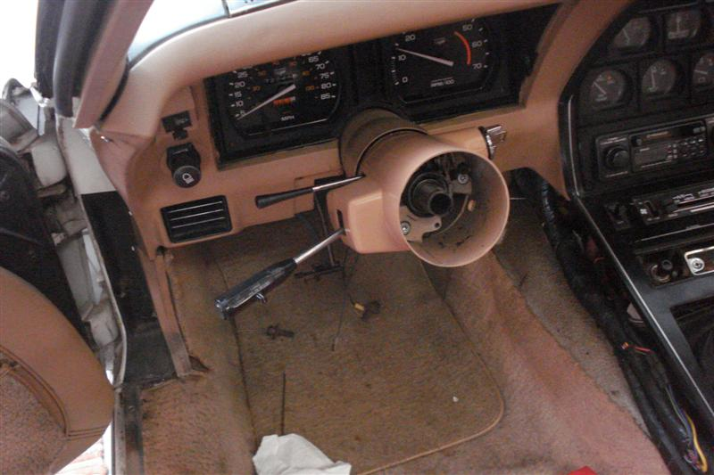 1982 Corvette tilt-telescopic steering column repair