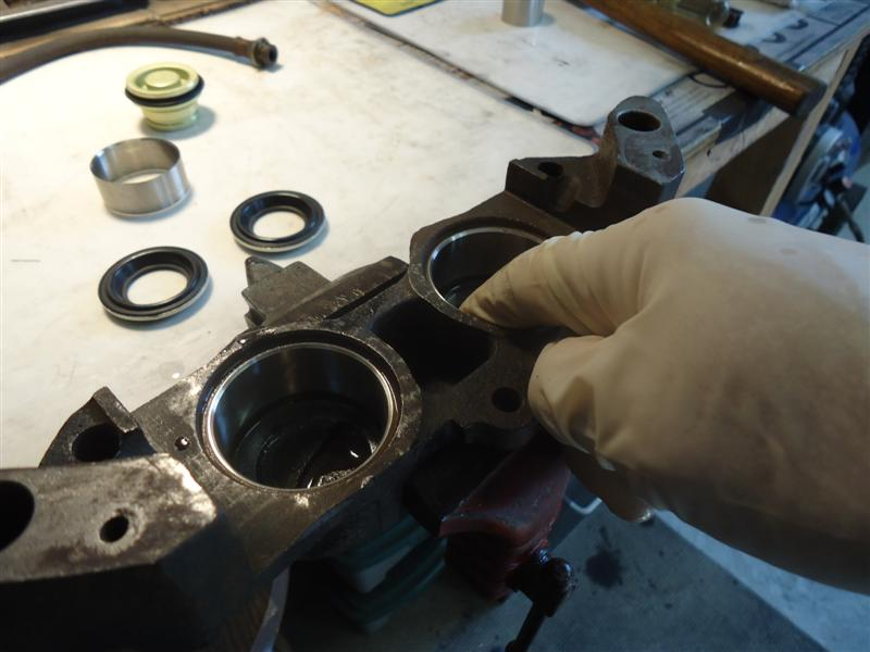 C3 Corvette caliper rebuild
