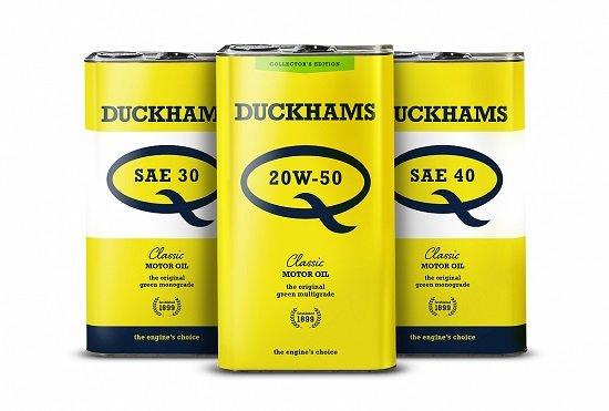 Duckhams oil for classic cars
