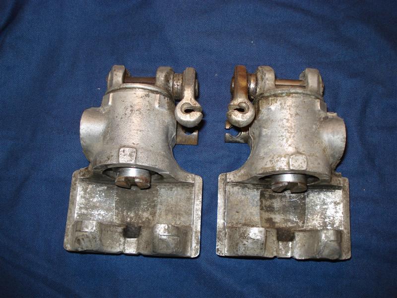 Fiat Spider brake calipers rebuild/replace
