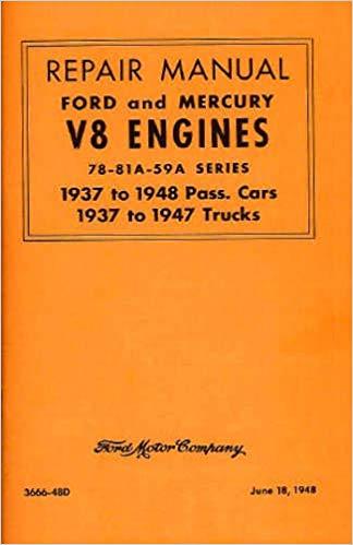 Flathead Ford repair manual