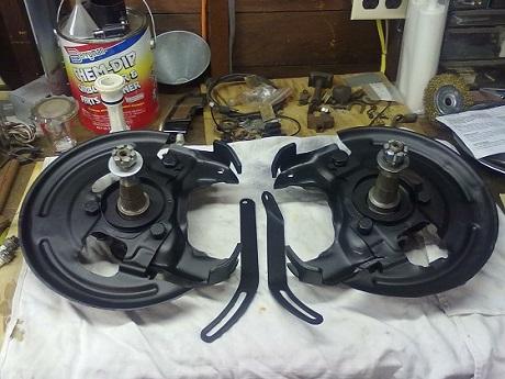 drum to disc brake upgrade