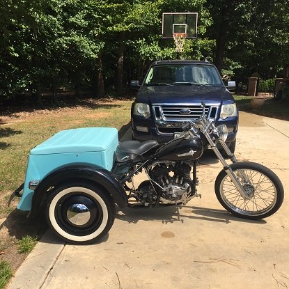 Harley-Davidson Servi-car restoration