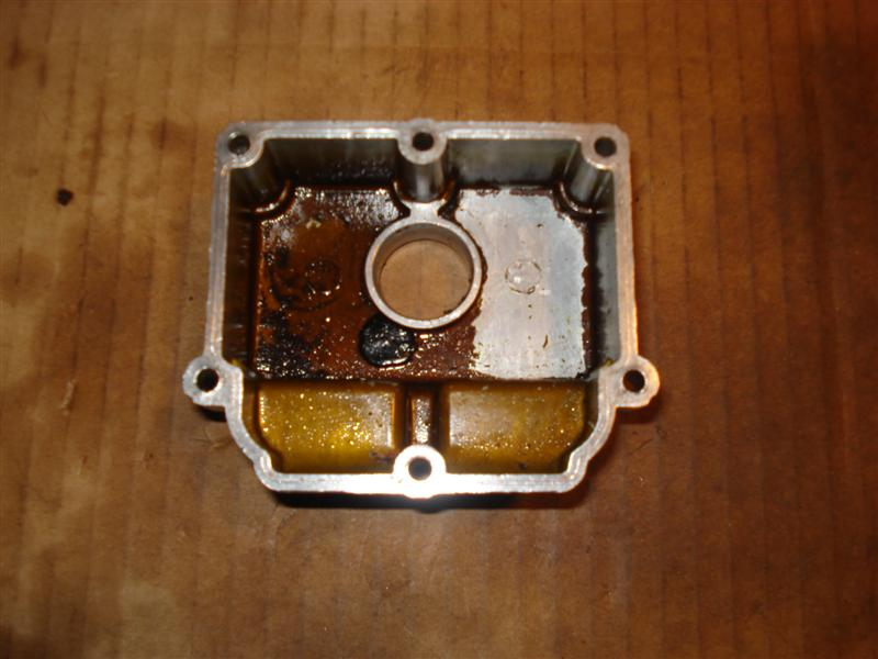 Zenith Stromberg carburetor float bowl