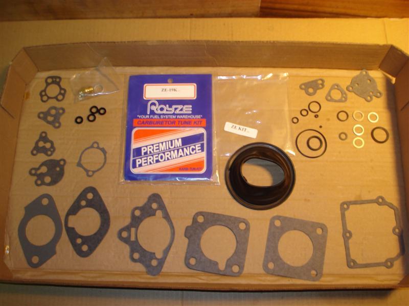 Zenith Stromberg carburetor kit