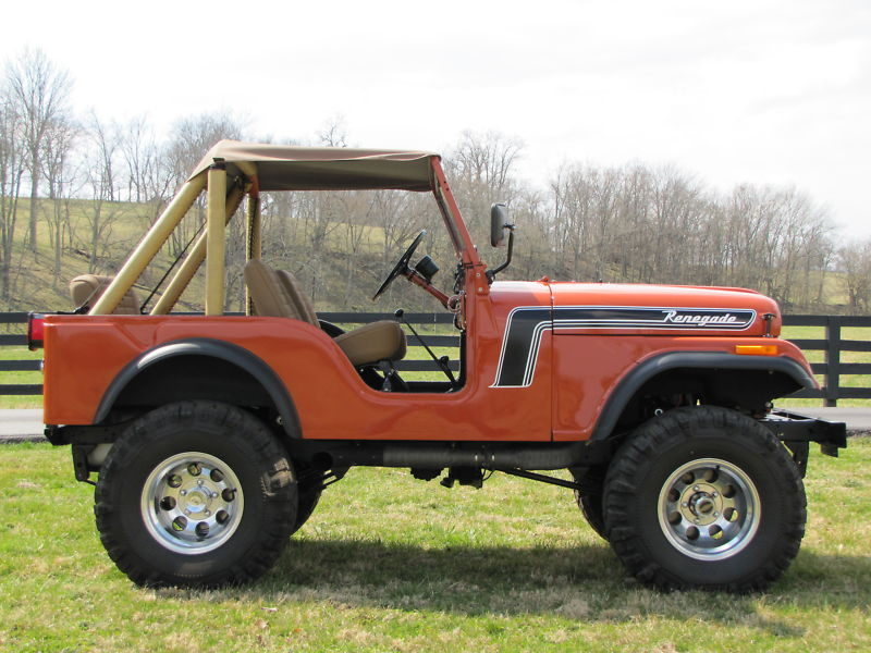 Jeep CJ5 add big tires