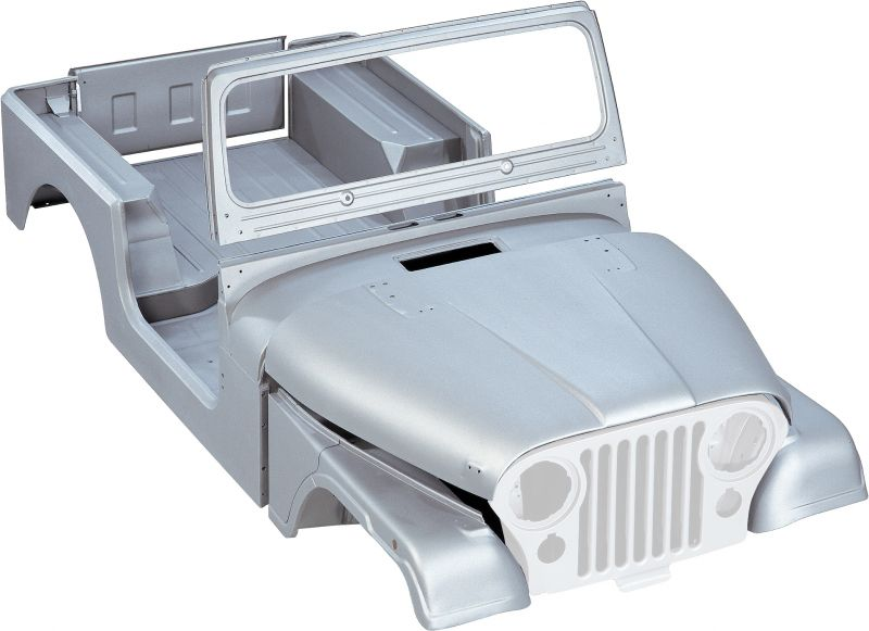 Jeep Steel Body Tub