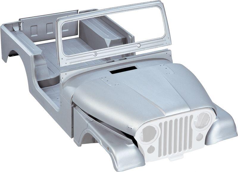 Jeep Steel Body Tub