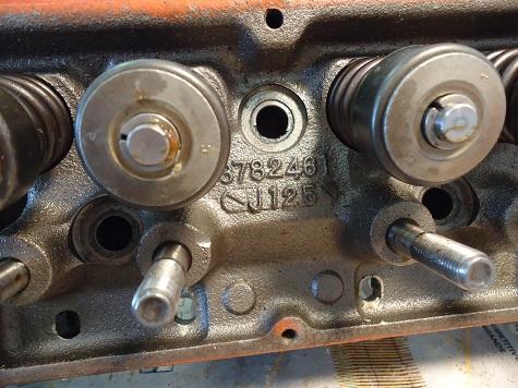 valvetrain assembly 327 Corvette