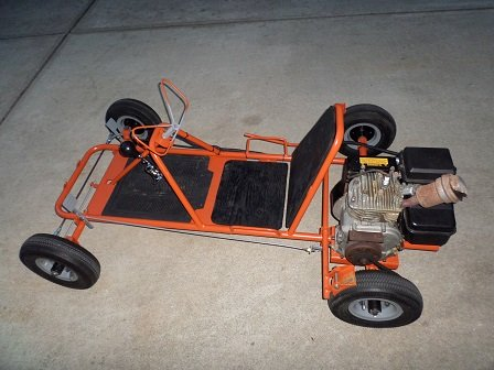 old go kart project