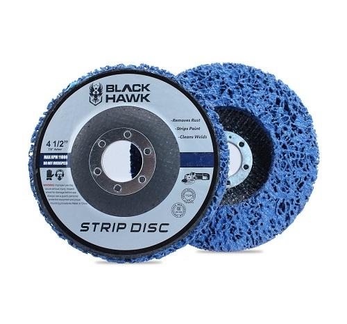 strip disc attachment for automotive body repair