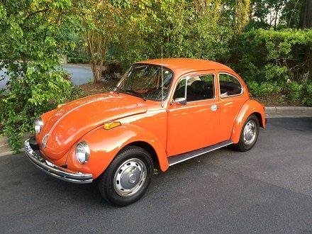 VW Beetle restored