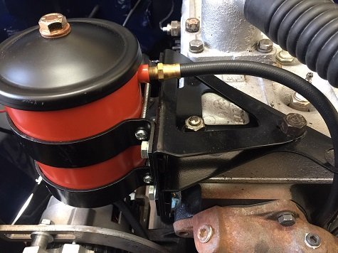 oil filter canister assembly Willys Jeep