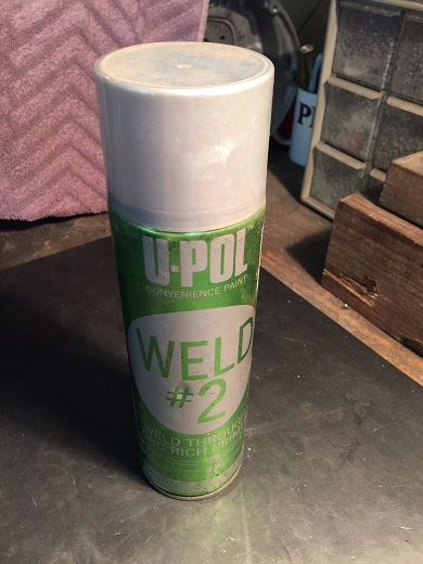 zinc weld-through primer spray